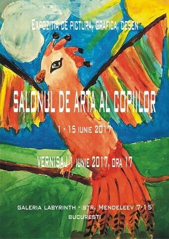 Salonul de arta al copiilor 1 iunie 2017
