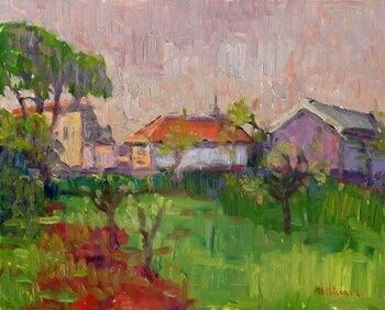 Mihai Potcoavă Peisaj de primăvară 2006