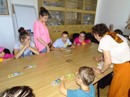copii biblioteca panait istrati