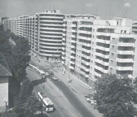 București, anii 60–70. Sursa foto Muzeul de fotografie