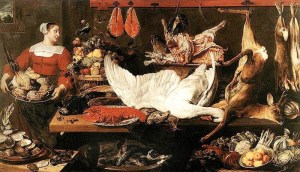 """Frans Snyders, """"Cămara"""""""