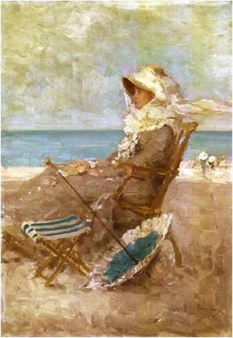 Nicolae Grigorescu, Femeie la malul mării
