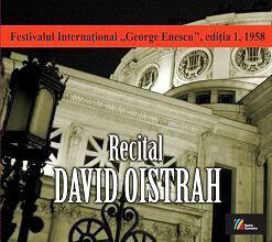 cd recital David Oistrah casa radio