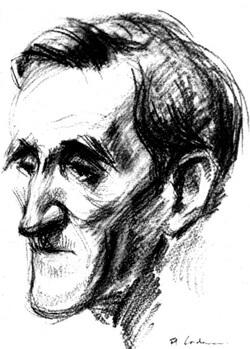 George Bacovia, portret de Florica Cordescu