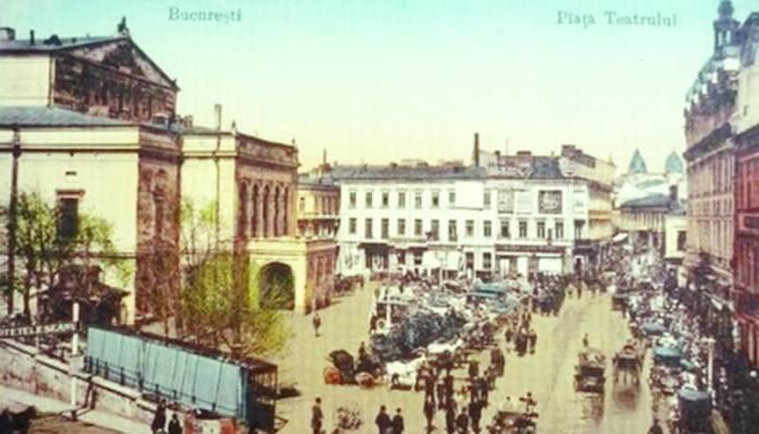 Piața Teatrului din București