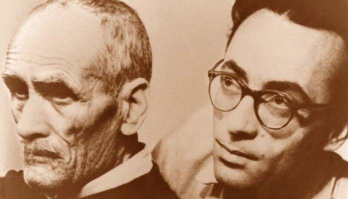 Marin Preda și tatăl său, Tudor Călăraşu (colaj). Sursa foto Arhiva Muzeul Naţional al Literaturii Române – Adevărul.ro