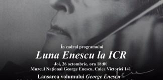 Luna George Enescu la ICR