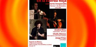 concert jazz madrid 1 decembrie 2017
