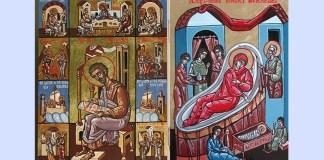 """Claudiu Victor Gheorghiu, """"Sf. Ap. Ev. Luca"""" și """"Nașterea Maicii Domnului"""""""