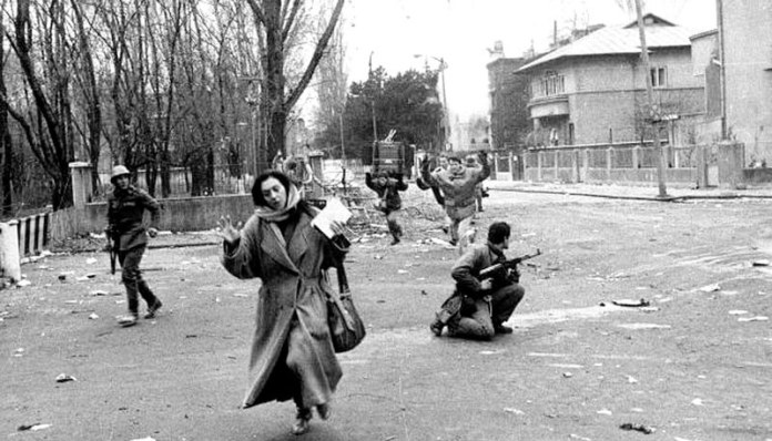 Decembrie 1989. Foto Agerpres florentina loredana dalian rubrica leviathan.ro
