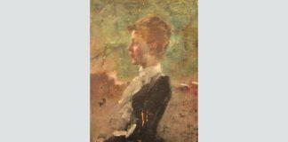 """Maxime Dastugue, """"Portret de femeie"""""""