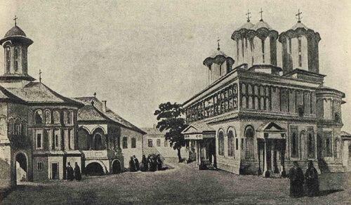 """Mitropolia – după Gh. Ionescu Gion, """"Istoria Bucurescilor"""""""