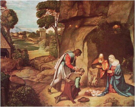 giorgione adoratia magilor 1504