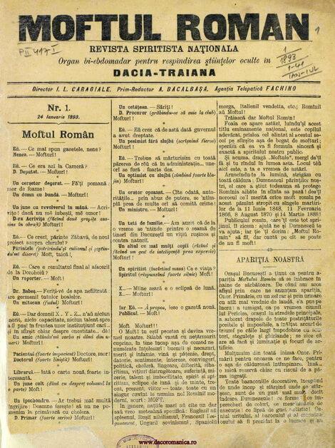 pagina 1 moftul roman nr 1