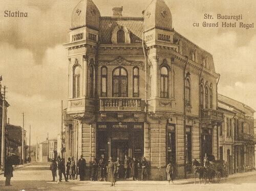 Grand Hotel Regal Slatina, carte poștală
