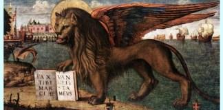 "Vittore Carpaccio ""Leul din San Marco"
