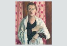 """Daniela Șontică Nina Arbore, """"Autoportret"""", 1937, Muzeul Muncipiului București"""