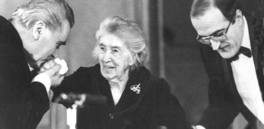 Marin Constantin, Cella Delavrancea, Dan Grigore la aniversarea Centenarului Cella Delavrancea, Sala Radio, București, 9 decembrie 1987