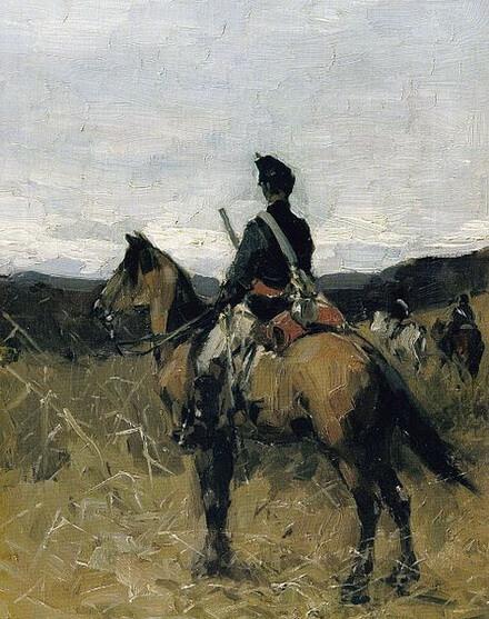 """""""Roșiorul"""", ulei pe pânză, Galeria de Artă Românescă a Muzeului Național de Artă al României"""