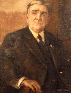 """Costin Petrescu """"Autoportret"""", ulei pe pânză"""
