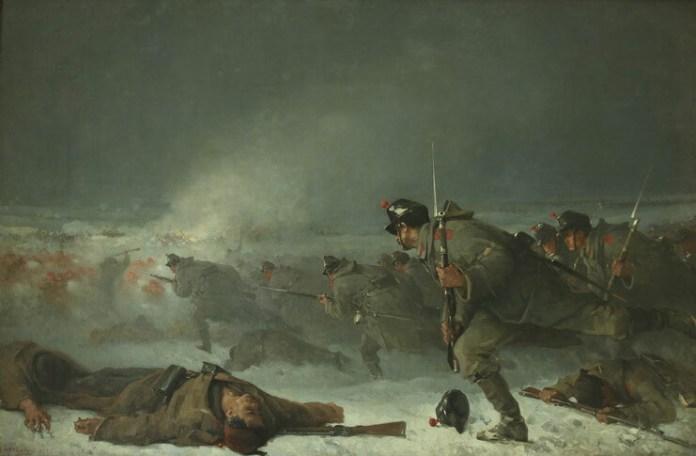 """Daniela Șontică, Nicolae Grigorescu, """"Atacul de la Smârdan, Muzeul Național de Istorie a României"""