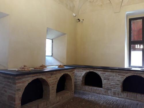Bucătăria castelului
