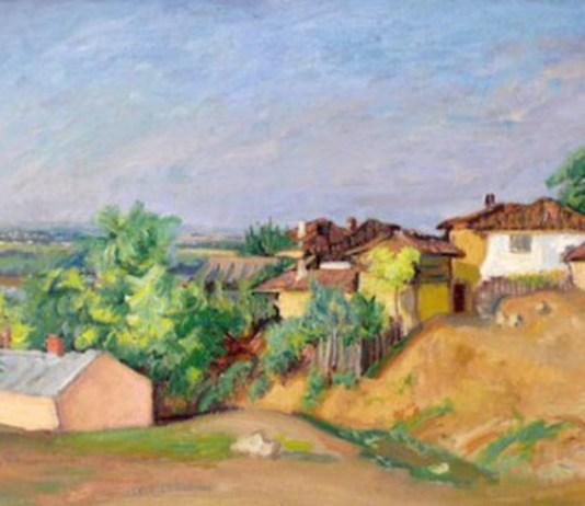 """Florentina Loredana Dalian Iosif Iser, """"Peisaj dobrogean"""", Muzeul de Artă din Constanța"""