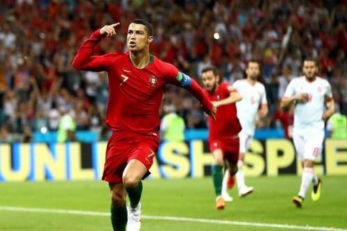 Cristiano Ronaldo, Spania – Portugalia, 16 iunie 2018