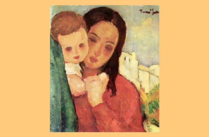 "Florentina Loredana Dalian Nicolae Tonitza, ""Mama și copilul"""