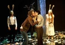 """Imagine din spectacolul """"Cum vă place"""", Teatrul Cameri din Tel Aviv Gheorghe Miletineanu leviathan"""