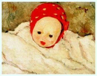 """Nicolae Tonitza, """"Cap de copil"""""""