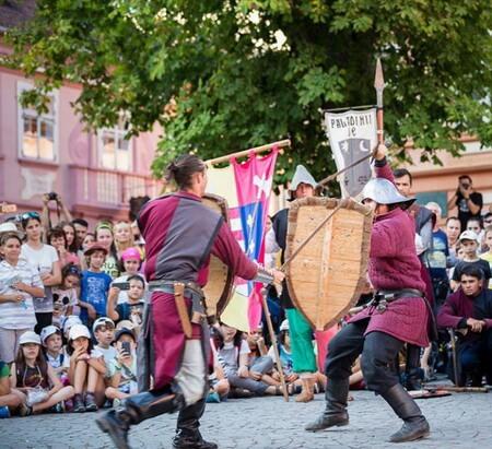 Imagini de la edițiile trecute ale Festivalului Sighișoara Medievală