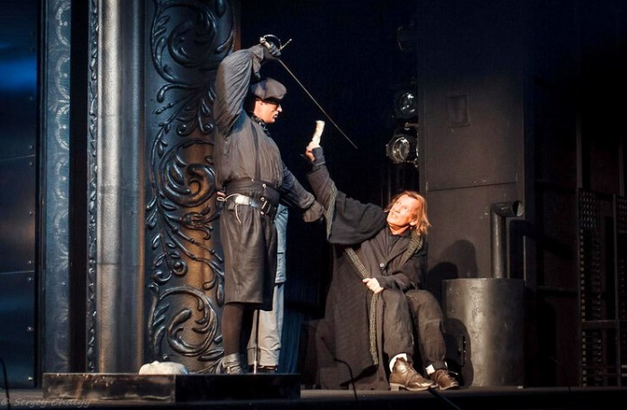 """Imagine din spectacolul """"Molière"""", Teatrul Lenkom"""