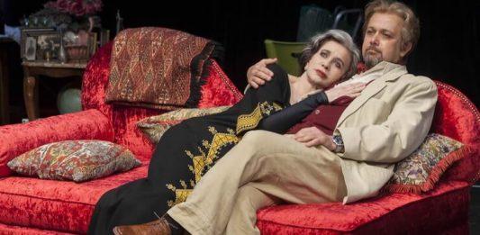 "Imagine din spectacolul ""Camera din dos"", Teatrul Cameri din Tel Aviv"