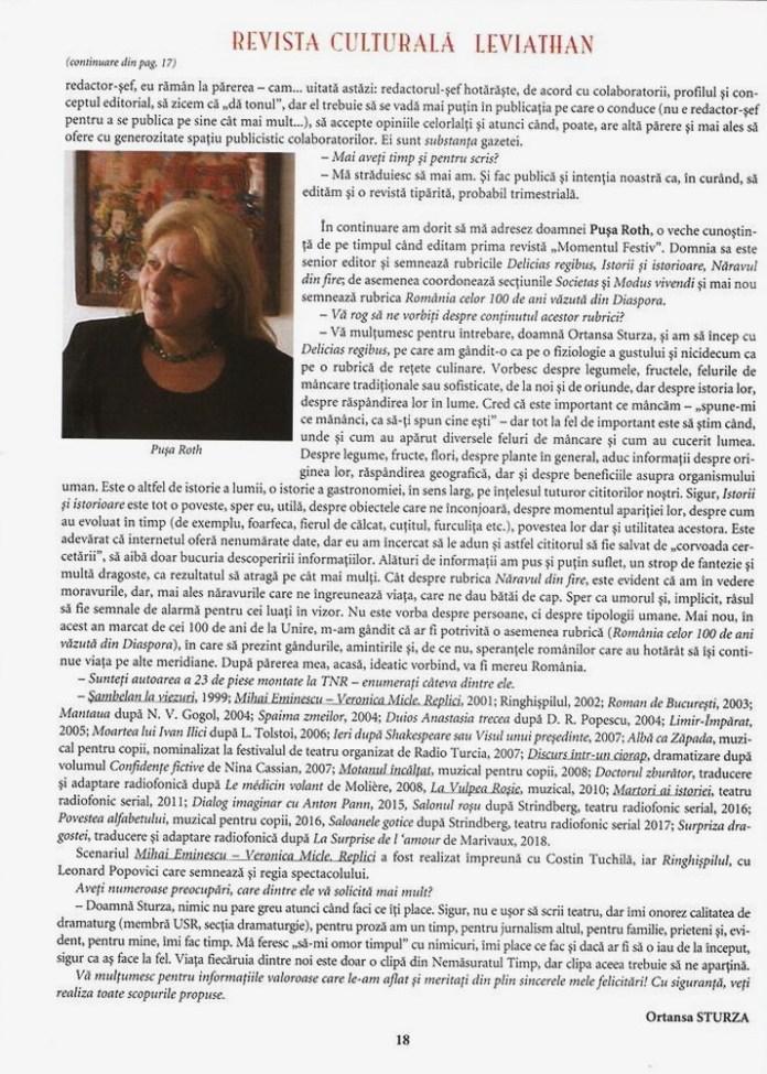 revista plai strabun despre revista leviathan p 18