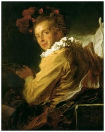 """""""Monsieur de la Bretèche (portret fantezist)"""", 1769"""