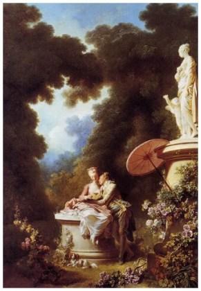 """""""Evoluția dragostei în inima unei fete – Mărturisirea dragostei"""", 1771"""