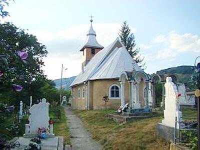 Biserica din Ponor, comuna Pui, jud. Hunedoara