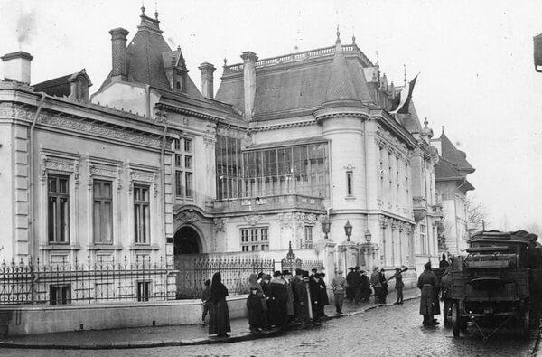 București – în timpul ocupației, decembrie 1916