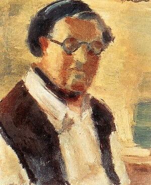 """Francisc Șirato, """"Autoportret"""""""