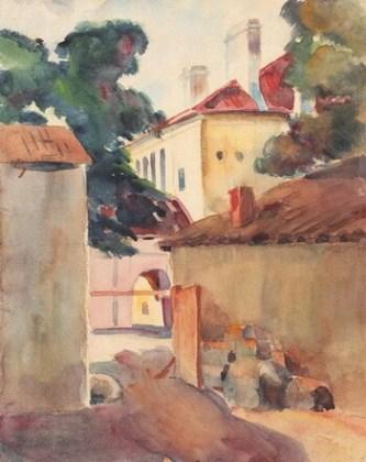 """Francisc Șirato, """"Stradă în Mangalia"""""""