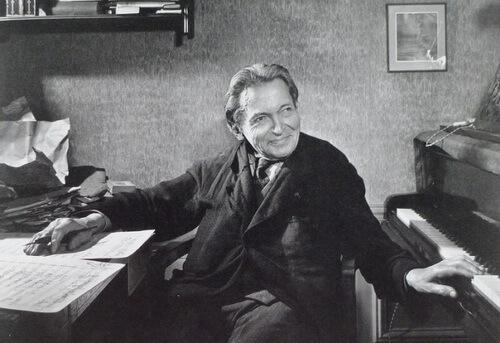 George Enescu, Paris, 4 iunie 1954