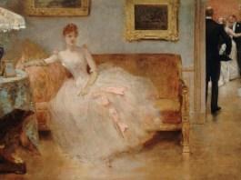 "Henri Gervex, ""Balul"", 1890, Muzeul Carnavalet, Paris"