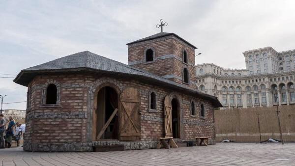 Interpretare după biserica Sân Nicoară din Curtea de Argeș