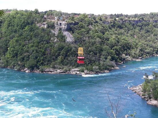 Râul Niagara, în amonte de cascadă