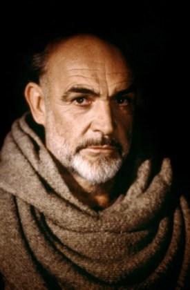 "Sean Connery în filmul ""The Name of the Rose"", 1986"