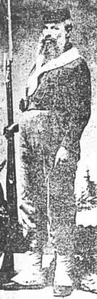 """Stan Popescu în costum garibaldian. Fotografie din albumul """"I. L. Caragiale şi Prahova"""" de Ieronim Tătaru, Ploiești, Editura Premier, 2000"""