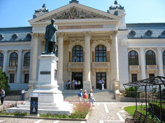 """Teatrul Național """"Vasile Alecsandri""""din Iași, astăzi"""