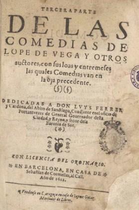 Teatru, ediție 1612, Barcelona