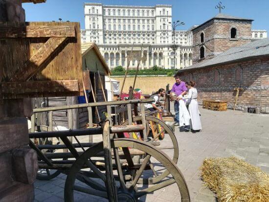 Satul românesc medieval
